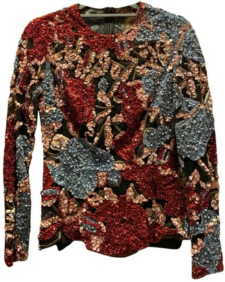 Elie Saab Multicolour Glitter Top for Women