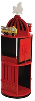 Levels of Discovery Firefighter Revolving Bookcase - Red