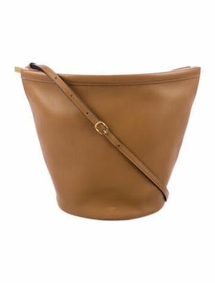 Celine Clasp Bucket Bag Gold