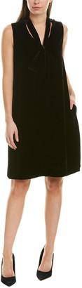 Lafayette 148 New York Ronan Silk-Blend Shift Dress