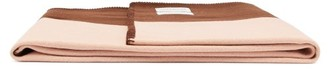 Calvin Klein X Pendleton Wool-blend Blanket - Brown Stripe