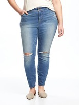 Old Navy Smooth & Slim High-Rise Plus-Size Rockstar Jeans