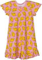 Sara's Prints Big Girls' Little Girls' Short Sleeve Nightgown, Girls