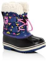 Sorel Girls' Yoot Pack Nylon Waterproof Boots - Toddler, Little Kid