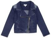Splendid Little Girl Indigo Knit Jacket