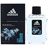 adidas Ice Dive By For Men, Eau De Toilette Spray, 3.4-Ounce Bottle