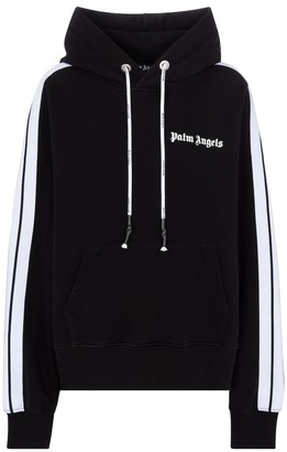Palm Angels Cotton jersey hoodie