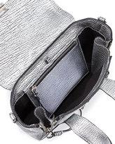 3.1 Phillip Lim Pashli Mini Leather Satchel Bag, Silver
