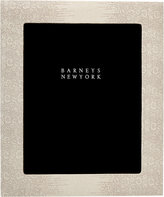"Barneys New York Lizard-Stamped Studio 8"" x 10"" Picture Frame"