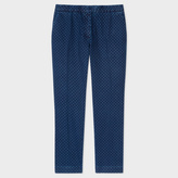Paul Smith Women's Slim-Fit Indigo Denim 'Small Spot' Trousers