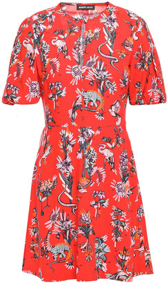 Markus Lupfer Jessie Floral-print Woven Mini Dress