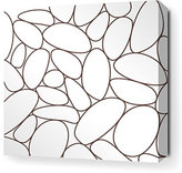 River Rock Stretched Canvas