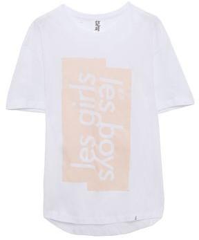 Les Girls Les Boys Printed Cotton-jersey T-shirt