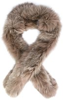 Derek Lam 10 Crosby fox fur scarf
