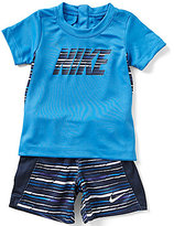 Nike Baby Boys 12-24 Months Graphic Short-Sleeve Tee & Shorts Set