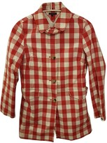 Tommy Hilfiger Red Cotton Coat for Women