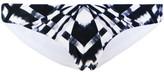 Rip Curl Black Reversible Bikini panties Mirage Chakra BLACK