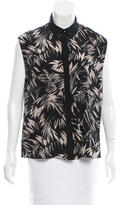 Jason Wu Silk High-Low Top