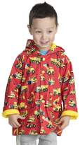 Hatley Big Boys' Classic Printed Rain Jacket