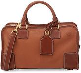 Loewe Amazona 28 Leather Satchel Bag, Brown