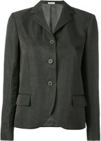 Tomas Maier high lapel jacket - women - Linen/Flax/Acetate/Cupro/Viscose - 6
