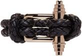 Givenchy Black Braided Obsedia Bracelet