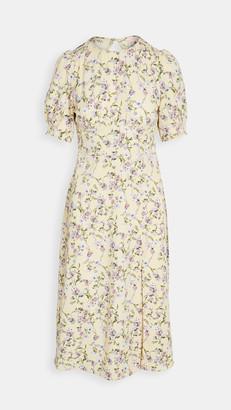 re:named apparel Allete Floral Midi Dress