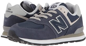 New Balance PC574v1 (Little Kid) (Navy/Grey) Boys Shoes
