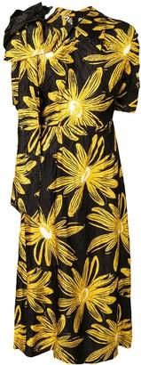 Miu Miu Floral Print Dress