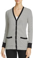 Three Dots Rib Stripe Cardigan