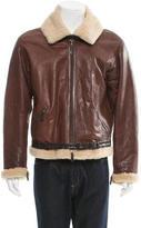 Jil Sander Leather Shearling Jacket