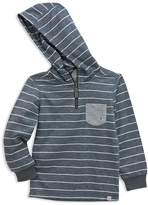 Sovereign Code Boys' Slubbed Striped French Terry Hoodie - Little Kid, Big Kid