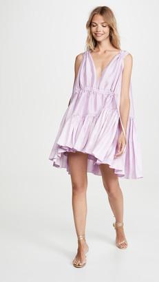 Azeeza Nella Drawstring Mini Dress