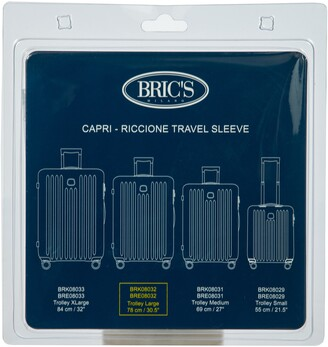 Bric's Transparent Custom Cover for 30-Inch Riccione/Capri Spinner Trunks