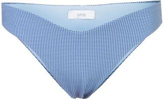 Onia Chiara print bikini bottoms