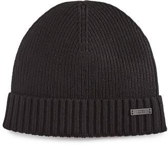 HUGO BOSS Fati-B Wool Knit Hat