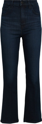 J Brand Franky High-Rise Crop Boot Jeans