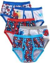 Marvel Boys 4-8 Spider-Man 5-Pack Briefs