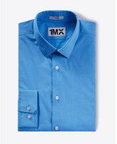 Express fitted easy care textured 1MX shirt