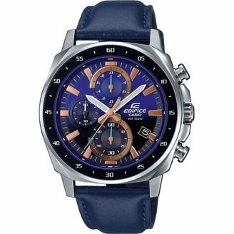 Casio Men's Chronograph Quartz Watch with Leather Strap EFV-600L-2AVUEF