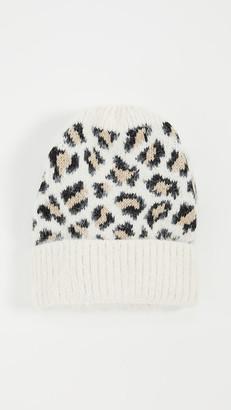 Hat Attack Leopard Beanie