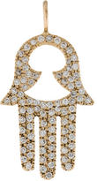 Jennifer Fisher 14K Diamond Hamsa Pendant