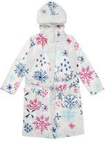 Tu clothing White Snowflake Pom Dressing Gown