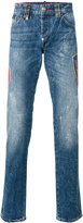 Philipp Plein Flame straight-leg jeans - men - Cotton - 30