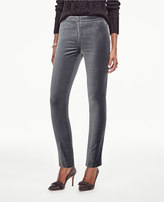 Ann Taylor Petite Velvet Ankle Pants