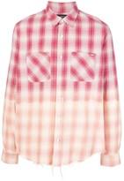 Amiri Checked Print Shirt