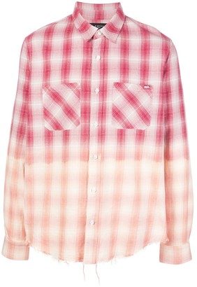 Amiri Checked Print Shirt