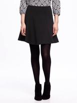 Old Navy Ponte-Knit Skater Skirt for Women