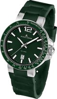 Jacques Lemans Milano 1-1695E 41mm Stainless Steel Case Silicone Mineral Men's & Women's Watch