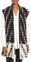 Nic+Zoe Women's Acadia Tufted Colorblock Knit Vest